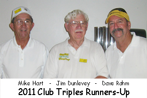 2011 Club Triples Runners-Up