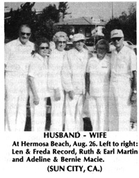 Husband-and-Wives Pairs